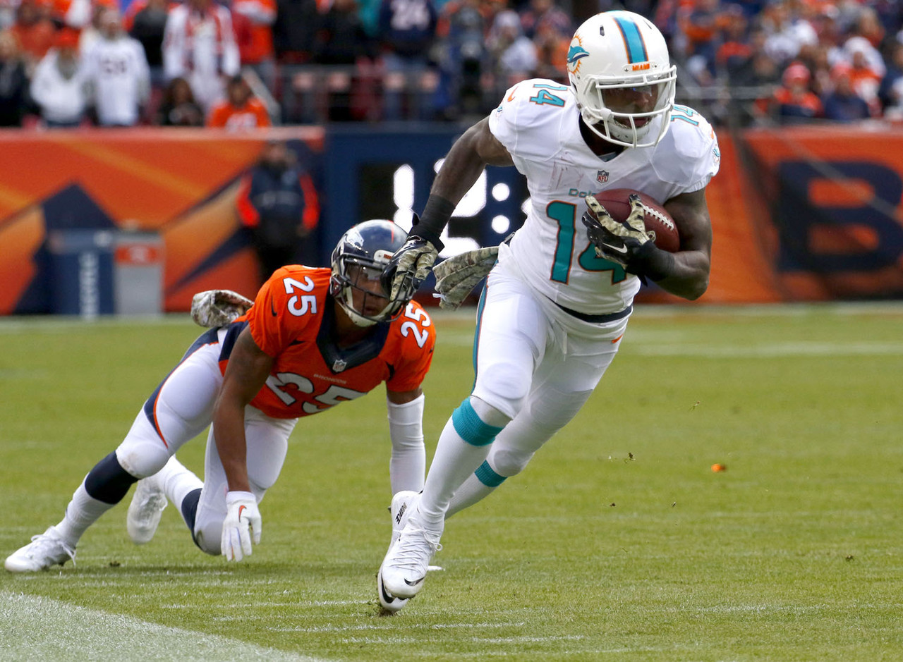 Mike Wallace Dolphins Touchdown