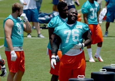 Miami Dolphins rookies workout