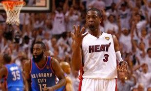 Dwyane Wade, Miami Heat vs OKC Thunder