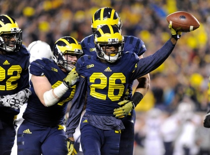 NCAA FOOTBALL: OCT 11 Penn State at Michigan