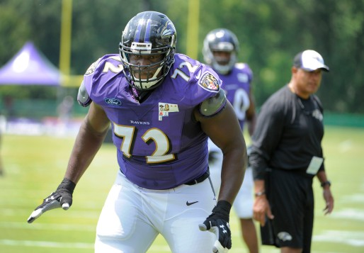 ravens practice at 1 p.m. and interviews with John Harbaugh, Clarence Brooks, Chris Canty and Eugene Monroe. Please get photos of de